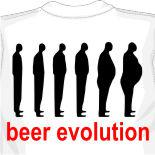 Футболка Beer evolution